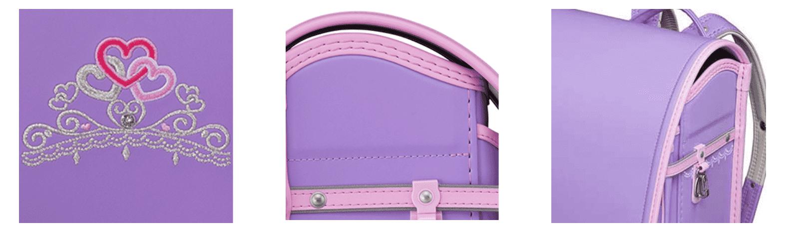 紫色のランドセル