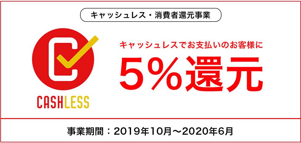 萬勇鞄はキャッシュレス対象の店舗になっているので、クレジットで買うと購入価格が5%還元されます。